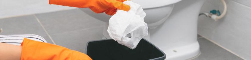 Roskat jäteastiaan myös epidemia-aikana!