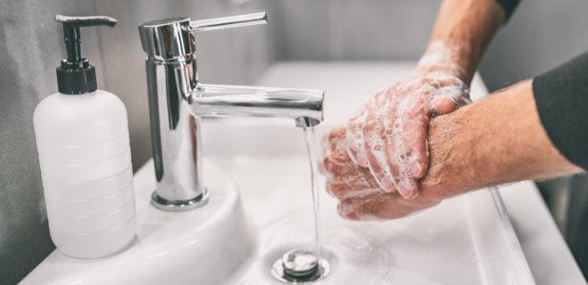 käsienpesu kuvituskuva