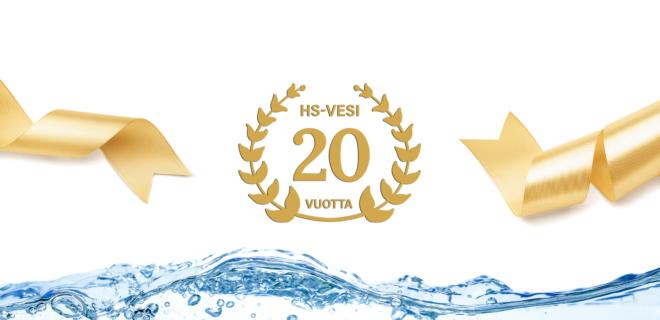 HS-Vesi 20 vuotta