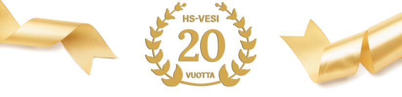 HS-Vesi – 20 vuotta vesihuoltotoimintaa